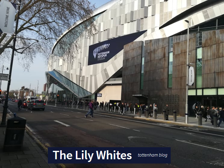 The New Spurs Stadium – before the starts of Tottenham Hotspur vs Manchester City – 09/04/2019
